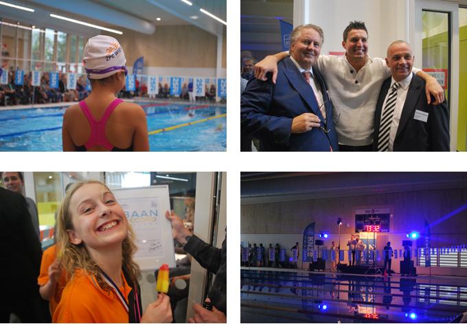 Blokweer zwembad feestelijk geopend